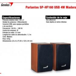 Parlante Genius Sp-HF160