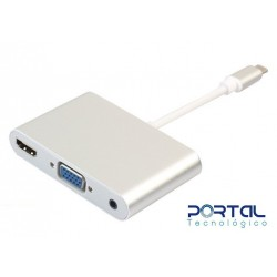 CONVERTIDOR DE USB TIPO C A...